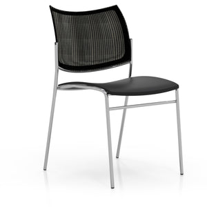 Escalate Chair, Mesh Back, Plastic Seat
