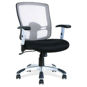 Artesa Task Chair by OfficeSource in Black Seat with White Back- for The Eggleston Group