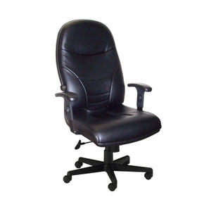 Comfort Series Executive High-Back Chair, Leather in Default Title - Office Furniture Seating by Mayline - Only at the-eggleston-group