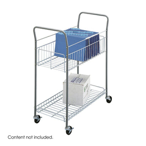 Economy Mail Cart in Default Title - Office Furniture Accessories by Safco - Only at the-eggleston-group