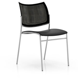 Escalate Chair, Mesh Back, Plastic Seat in Default Title - Office Furniture Seating by Mayline - Only at the-eggleston-group