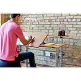 Height-Adjustable Split Level Drafting Table by Safco in - for The Eggleston Group