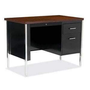 OfficeSource 500 Series Steel Desks Single Right Hanging Pedestal Desk in [variant_title] - Office Furniture Desks by OfficeSource - Only at the-eggleston-group