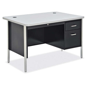 OfficeSource 600 Series Steel - Teachers Desks Teacher's Desk - Single Hanging Pedestal Desk in [variant_title] - Office Furniture Desks by OfficeSource - Only at the-eggleston-group