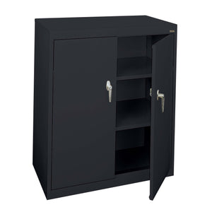 OfficeSource Budget Storage Cabinets Counter Height Cabinet in [variant_title] - Office Furniture Storage by OfficeSource - Only at the-eggleston-group
