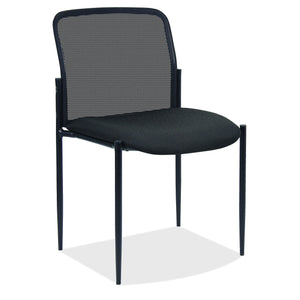 OfficeSource Crossway Collection Armless Side Chair with Black Frame in [variant_title] - Office Furniture Seating by OfficeSource - Only at the-eggleston-group