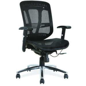 OfficeSource Engage Collection Mesh, Mid Back Task Chair with Chrome Frame in [variant_title] - Office Furniture Seating by OfficeSource - Only at the-eggleston-group