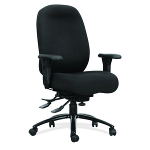 OfficeSource OS 24-7 Collection 24-7 Executive High Back Chair with Black Steel Base in [variant_title] - Office Furniture Seating by OfficeSource - Only at the-eggleston-group