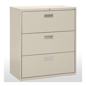 OfficeSource OS 600 Series Lateral Files 3 Drawer 42'' W Lateral File in [variant_title] - Office Furniture Storage by OfficeSource - Only at the-eggleston-group