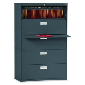 OfficeSource OS 600 Series Lateral Files 5 Drawer 42'' W Lateral File in [variant_title] - Office Furniture Storage by OfficeSource - Only at the-eggleston-group