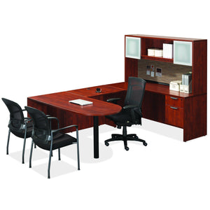 OfficeSource OS Laminate Collection Typical OS87 in [variant_title] - Office Furniture Desks by OfficeSource - Only at the-eggleston-group