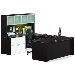 OfficeSource OS Laminate Collection Typical OS9 in [variant_title] - Office Furniture Desks by OfficeSource - Only at the-eggleston-group