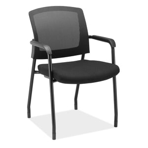 OfficeSource Parson Collection Micro Mesh Back Side Chair with Arms in [variant_title] - Office Furniture Seating by OfficeSource - Only at the-eggleston-group