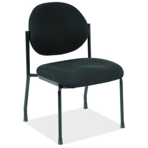 OfficeSource Regal Collection Armless Side Chair with Black Frame in [variant_title] - Office Furniture Seating by OfficeSource - Only at the-eggleston-group