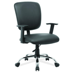 OfficeSource Task Force Collection Mid Back Task Chair with Chrome Base in [variant_title] - Office Furniture Seating by OfficeSource - Only at the-eggleston-group