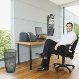 Onyx™ Mesh Monitor Stand in [variant_title] - Office Furniture Accessories by Safco - Only at the-eggleston-group