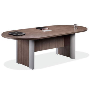"Racetrack with Elliptical Base Conference Table by OfficeSource in 95"" Table- for The Eggleston Group"