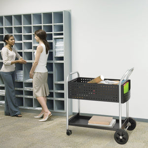 "Scoot™ Mail Cart, 32""D in [variant_title] - Office Furniture Accessories by Safco - Only at the-eggleston-group"