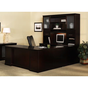 Sorrento Typical 8 in Espresso / Espresso - Office Furniture Desks by Mayline - Only at the-eggleston-group