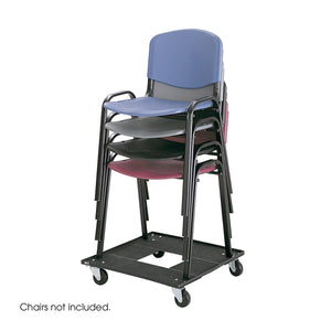 Stack Chair Cart by Safco in - for The Eggleston Group