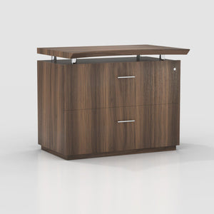 "Sterling 36"" Freestanding Lateral File in Textured Brown Sugar - Office Furniture Storage by Mayline - Only at the-eggleston-group"