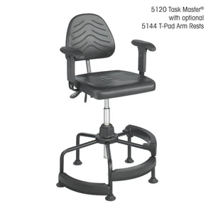 Task Master® Deluxe Industrial Chair in [variant_title] - Office Furniture Seating by Safco - Only at the-eggleston-group