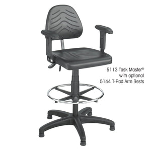 Task Master® Deluxe Workbench Chair in [variant_title] - Office Furniture Seating by Safco - Only at the-eggleston-group