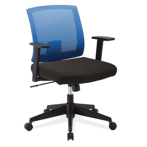 The Acestes by OfficeSource in Blue Back with Black Seat- for The Eggleston Group