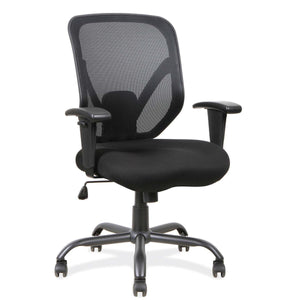 The Devera by OfficeSource in Black Seat with Black Mesh Back- for The Eggleston Group
