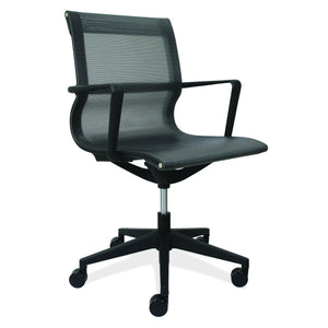 The Franklin by OfficeSource in Black Mesh- for The Eggleston Group