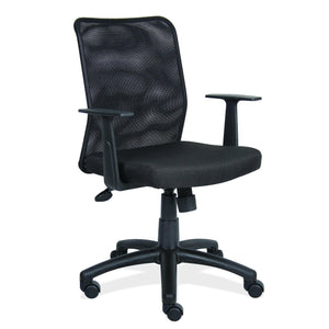 The Silvius by OfficeSource in Black Seat with Black Back- for The Eggleston Group