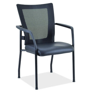 The Stercutus by OfficeSource in Black Vinyl Seat- for The Eggleston Group