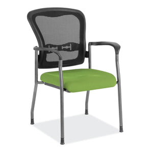 The Stimula by OfficeSource in Lime Fabric Seat- for The Eggleston Group