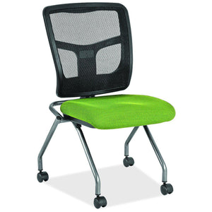 The Suadela by OfficeSource in Lime Fabric Seat- for The Eggleston Group