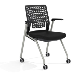 Thesis™ Training Chair, Flex Back with Arms in Default Title - Office Furniture Seating by Mayline - Only at the-eggleston-group