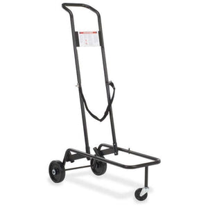 Virco 8900 Series Chair Cart with Char Black Finish by Virco in Char Black- for The Eggleston Group