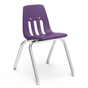 Virco Classic Series Chairs Student Chair - 14'' H by Virco in Purple Iris- for The Eggleston Group