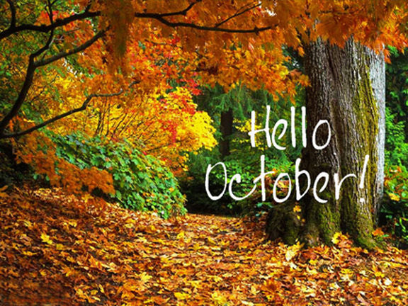 Can You Believe It's Already October???