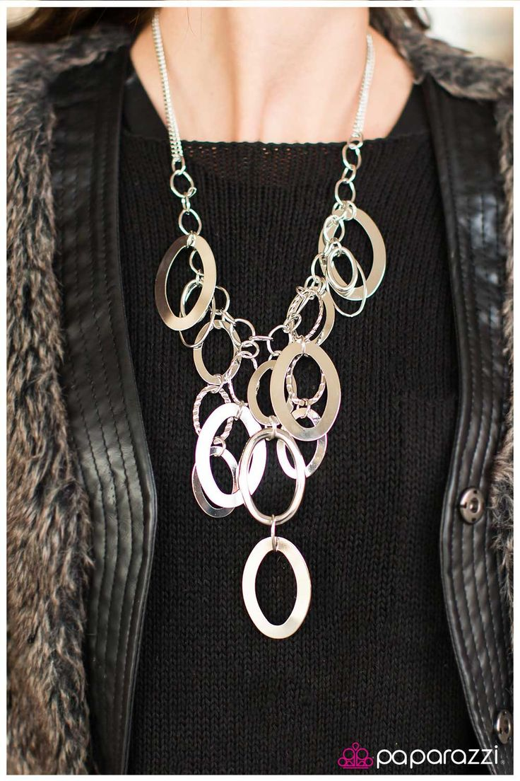 Paparazzi A Silver Spell - Silver Necklace BLOCKBUSTER