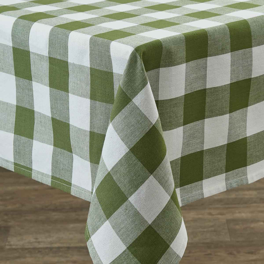 "Table Cloth 54"" x 54"" - Wicklow Check Sage"
