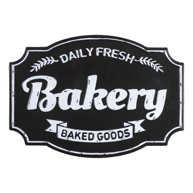 Daily Fresh Bakery Metal Sign