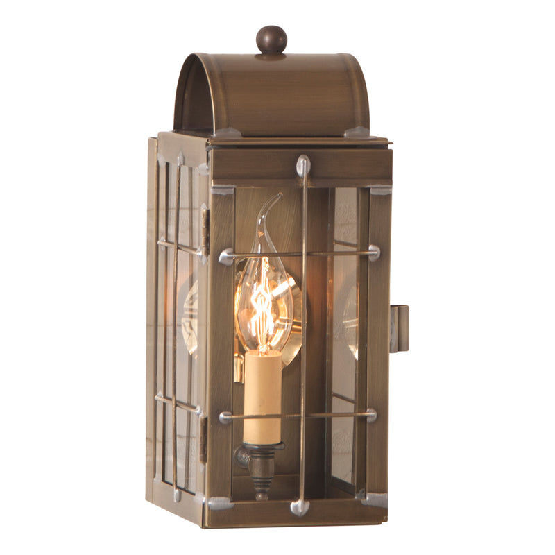 Cape Cod Wall Lantern in Weathered Brass