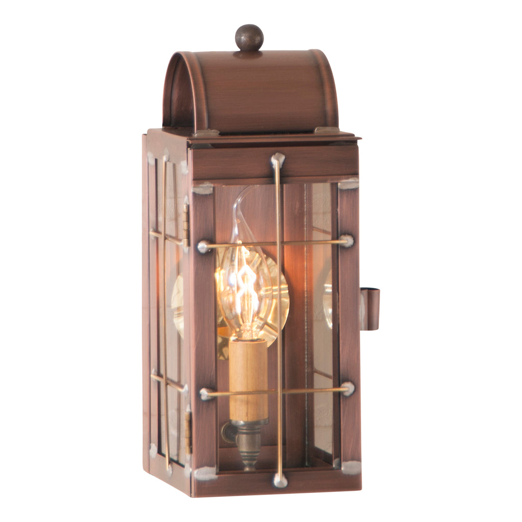 Cape Cod Wall Lantern in Antique Copper