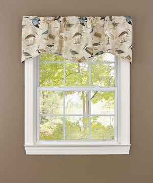 Marshland Lined Waved Valance