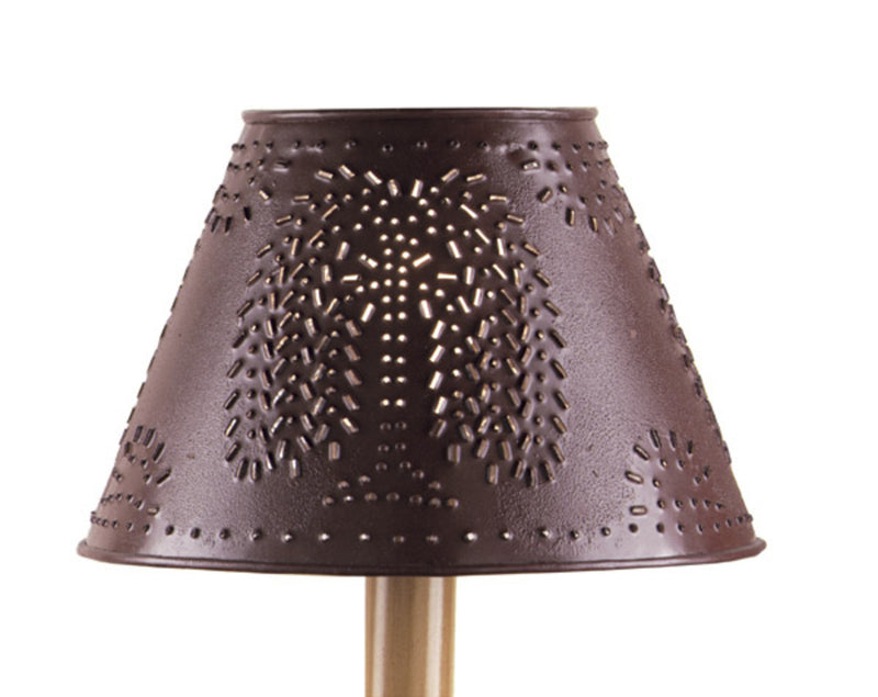 Lamp Shade ~ Willow Red