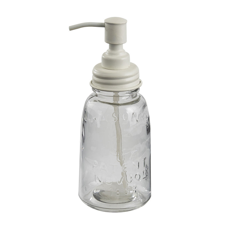 Mason Jar Dispenser ~ White