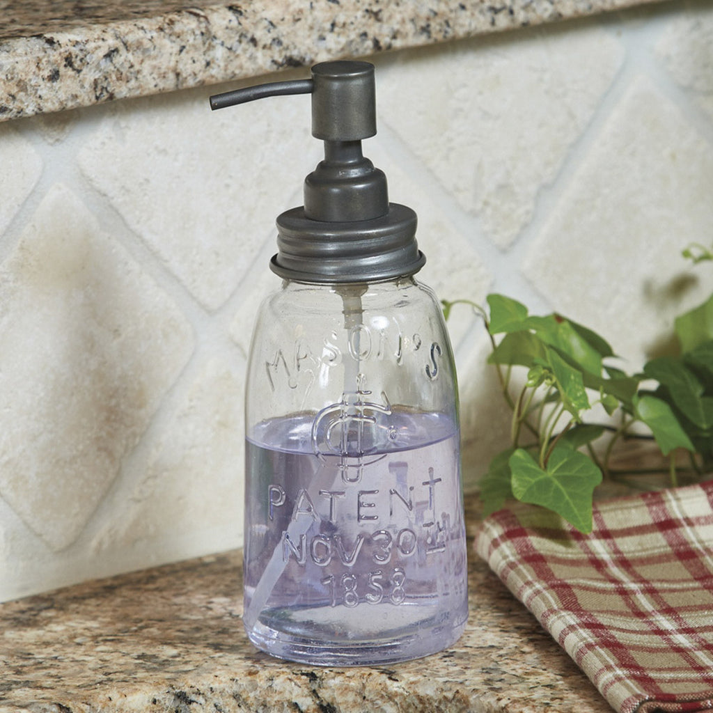 Mason Jar Dispenser ~ Black