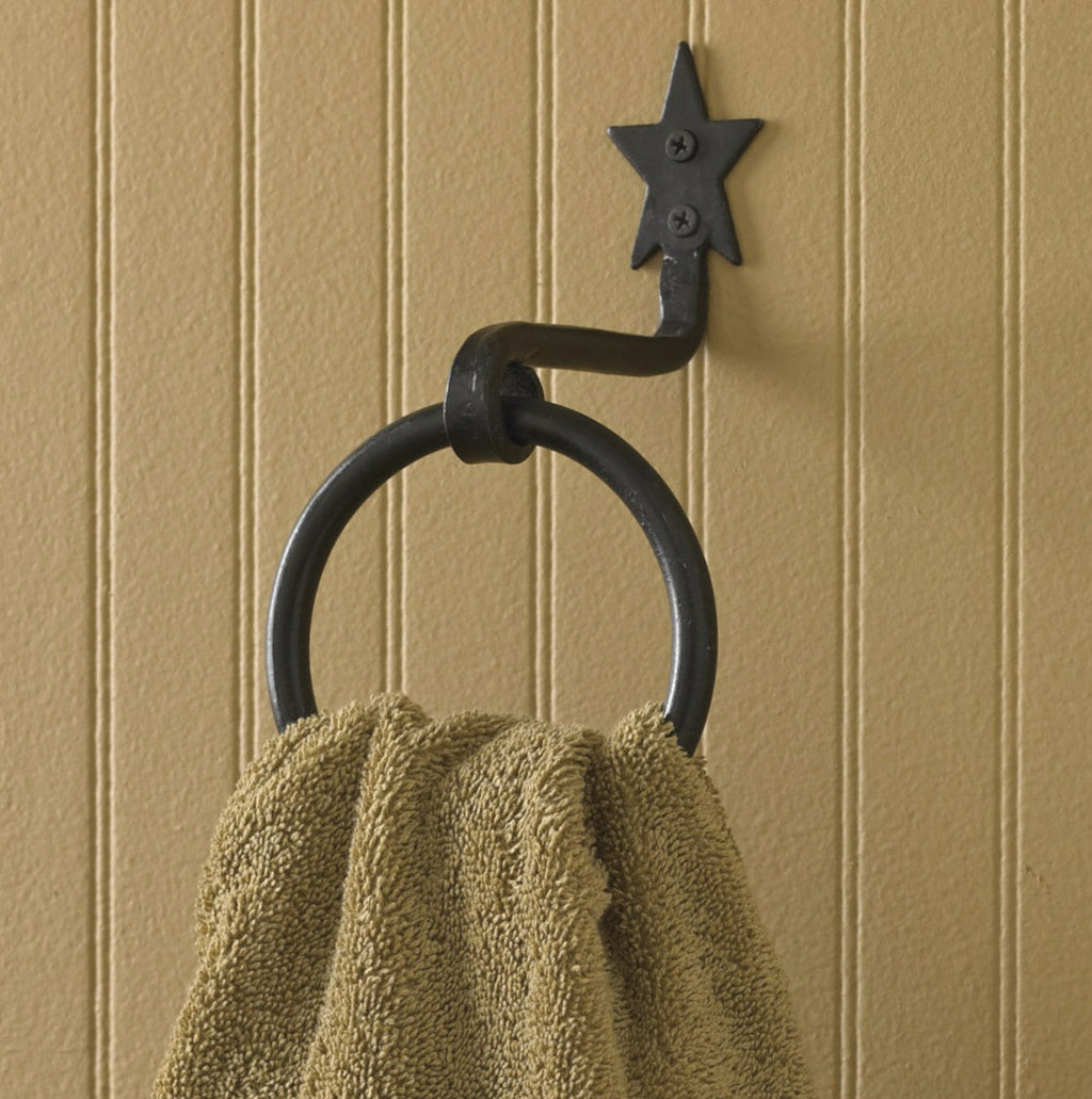 Star ~ Towel Ring Hook