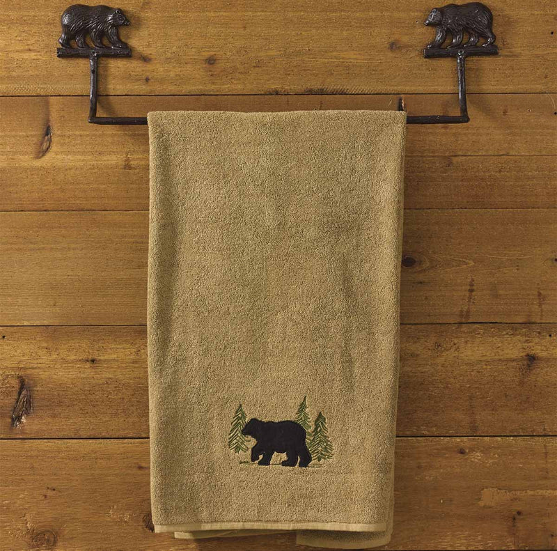 Cast Bear ~ Towel Bar 24