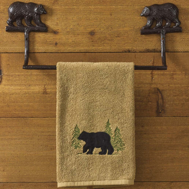 Cast Bear ~ Towel Bar 16